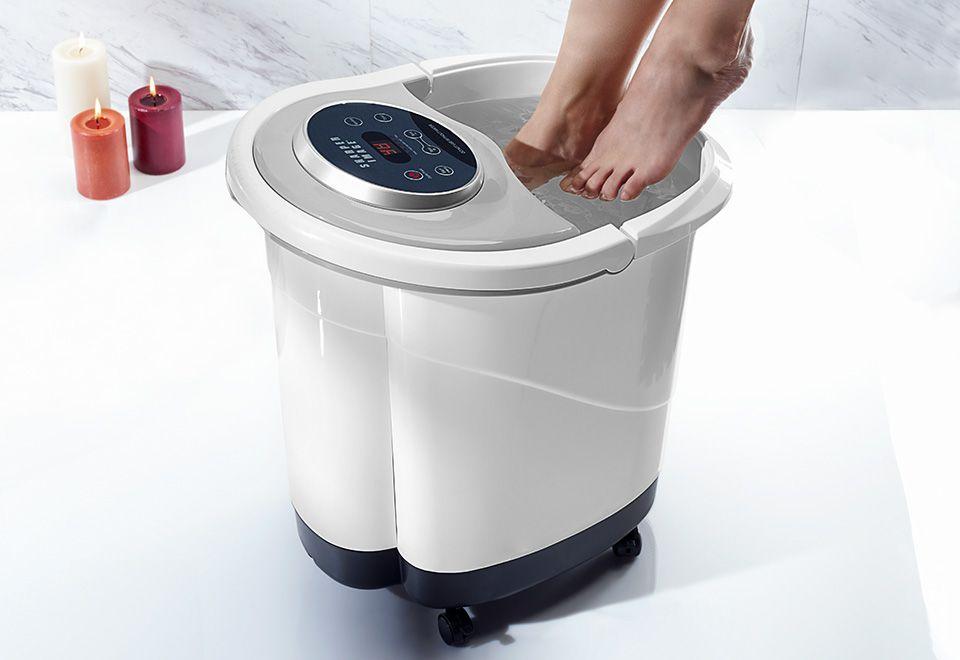 Foot and leg spa sharper image unique home accessories