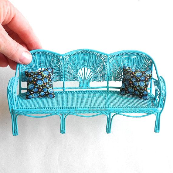 Pretty Miniature Garden Bench, Decorative Garden Benches Mini
