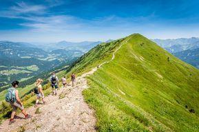 Oberstdorf: Zum Wandern und Spazieren ideale Wanderwege #aroundtheworldtrips