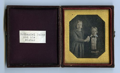 PAINE, Nathaniel (as child with sister). | Flickr - Photo Sharing!