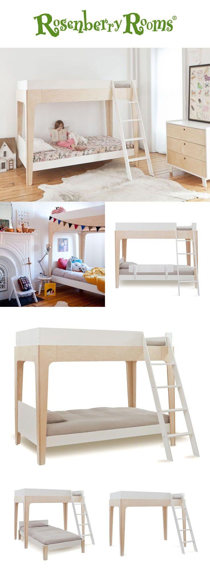 Love this modern loft! Available as a bunk, loft, or loft