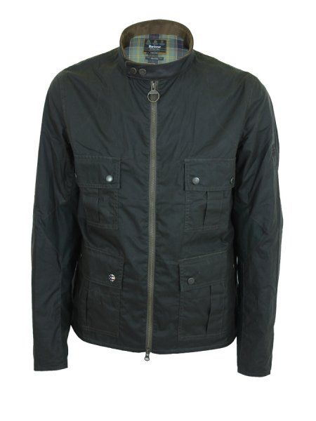 af96d3610a0 Barbour Chico Wax Jacket in Olive - Northern Threads
