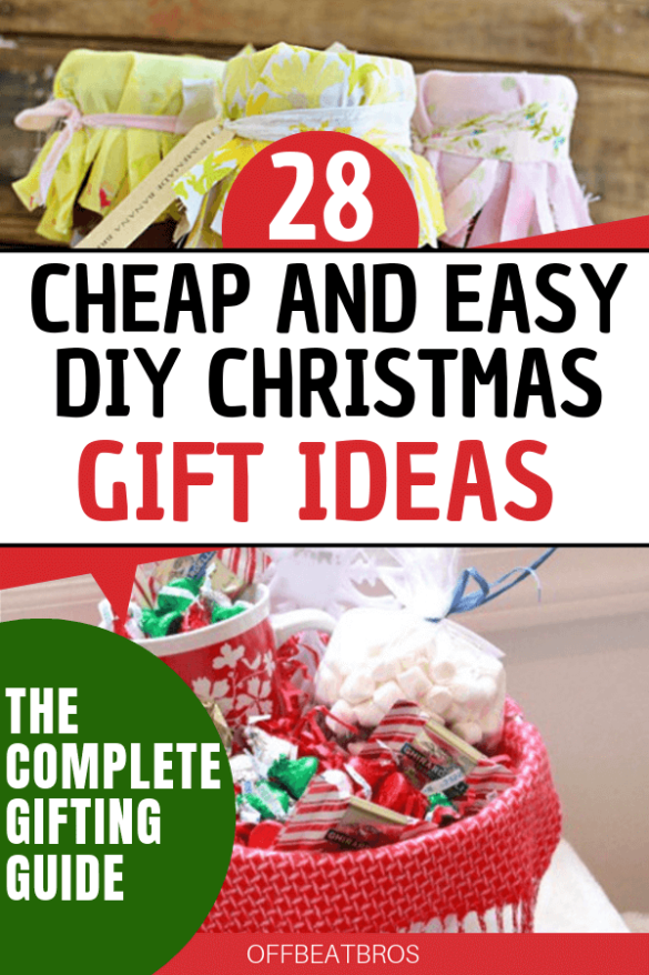 28 Cheap and Easy DIY Christmas Gift Ideas That Looks Expensive #cheapgiftideas