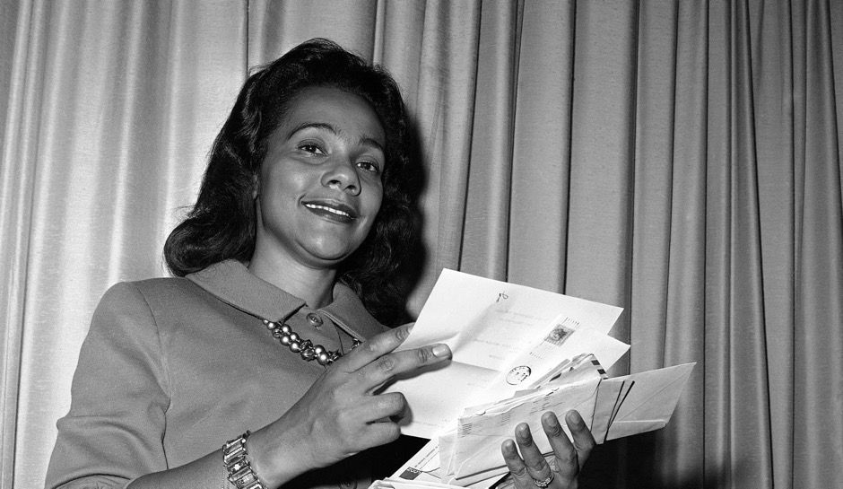 the coretta scott king letter on jeff sessions, brought to the