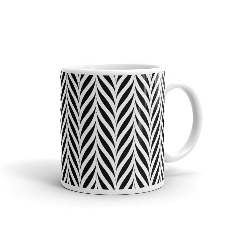 Wavy Black And White Mug Bliss N Passions I 2020