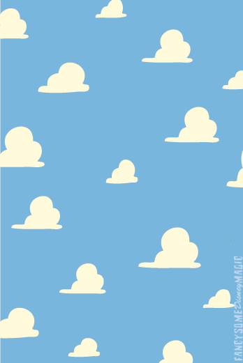 Toy Story! Toy story clouds, Wallpaper, Toy story,y