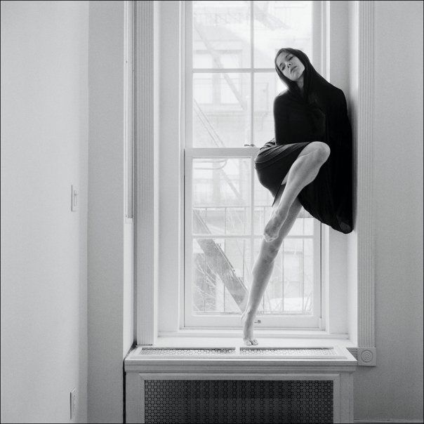 """Ballerina Project is a series of photographs created by photographer: Dane Shitagi. This project is not """"dance photography"""" but an etching of a ballerinas heart and emotions. Each photograph is a collaborative work of dance, fashion design and photography played out against the city's landscape. More infos & pictures here"""