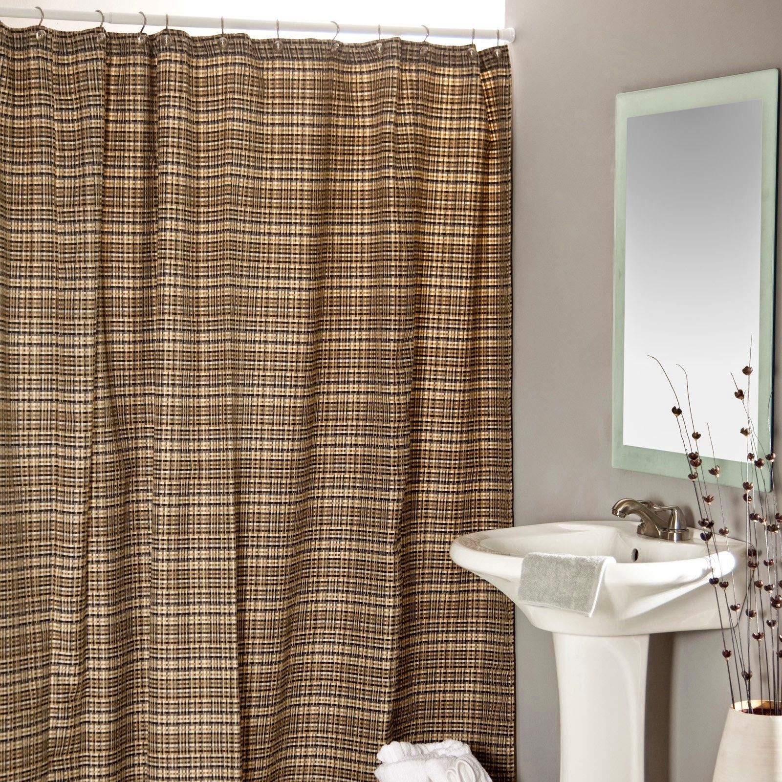Curtain ideas Сhower curtains kohls inch bathroom curtains