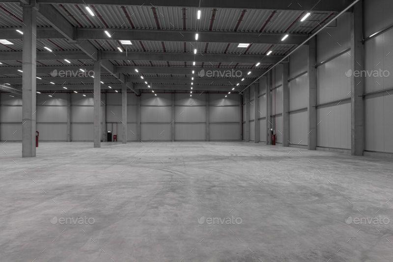 MW3DHDR0035 - 4 Industrial Logistc Hall HDRI Sets #Logistc
