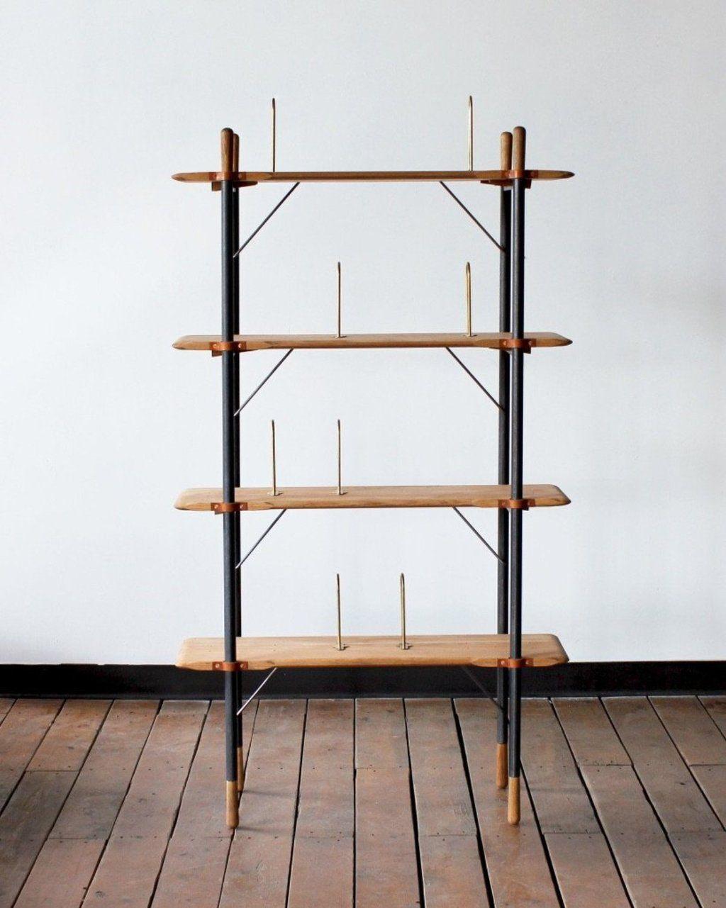 Brandywine Tall Shelf | Tall shelves, Oak shelves, Shelves