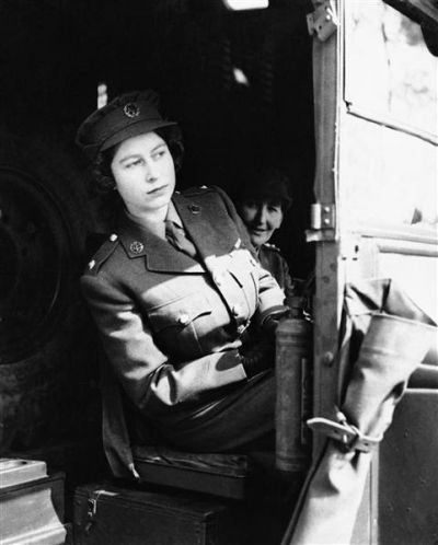 During World War II, Princess Elizabeth volunteered as a subaltern in the Women's Auxiliary Territorial Service and was trained as both a driver and a mechanic. At that time, she even drove military trucks in England