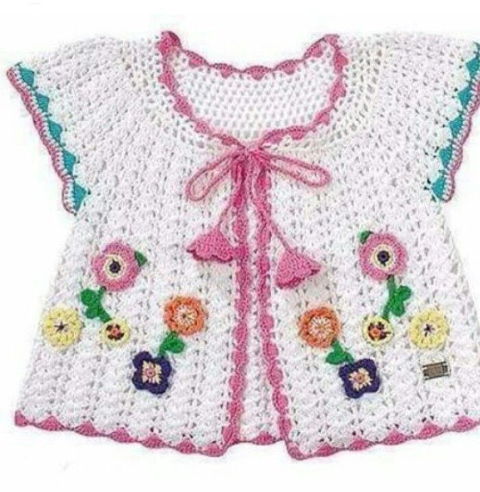 Pin de nora muñoz en ropita crochet | Pinterest | Para bebes, Bebe y ...