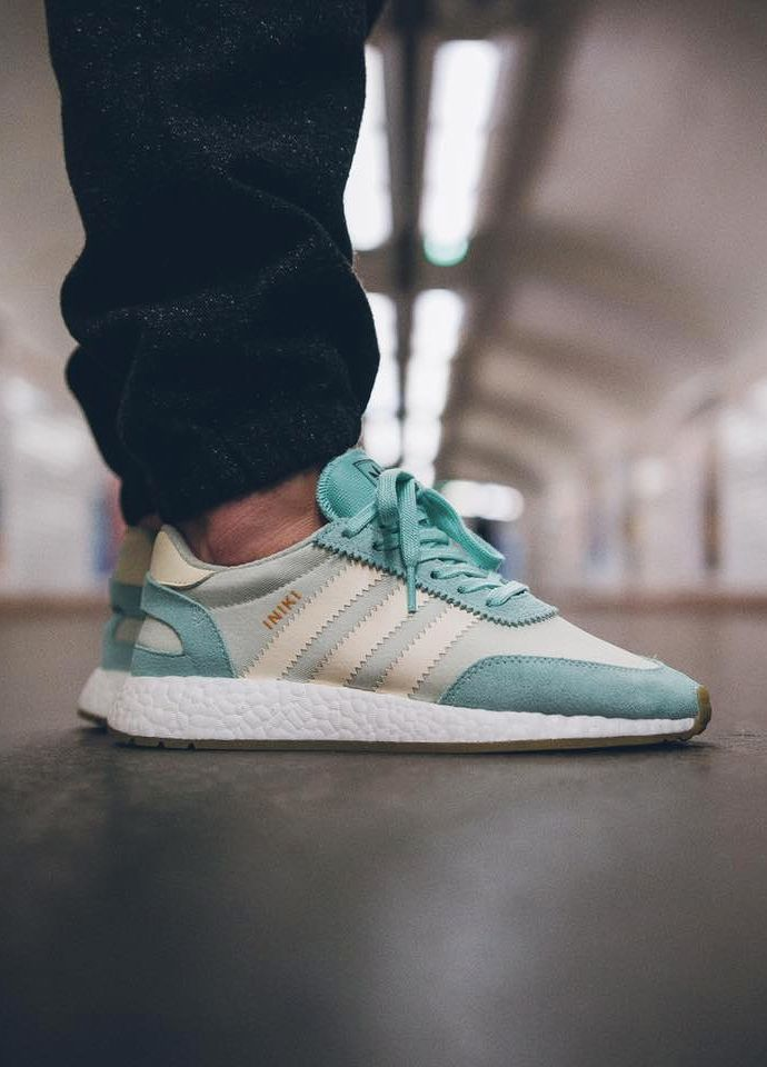28a1e28a75 Adidas Iniki Runner Boost wmns - Easy Green Cream White - 2017 (by Jeremy  Szy) Buy here  Sneakersnstuff   Overkill   The Good Will Out   More shops
