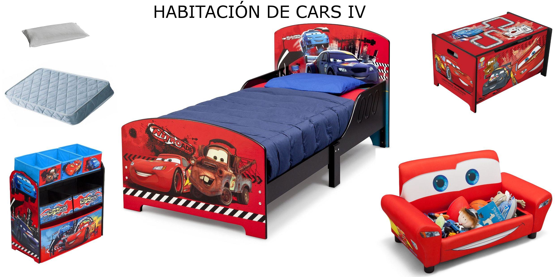 Habitaci 243 N Cars Disney 4 Colch 243 N Y Almohada Bb86975cr