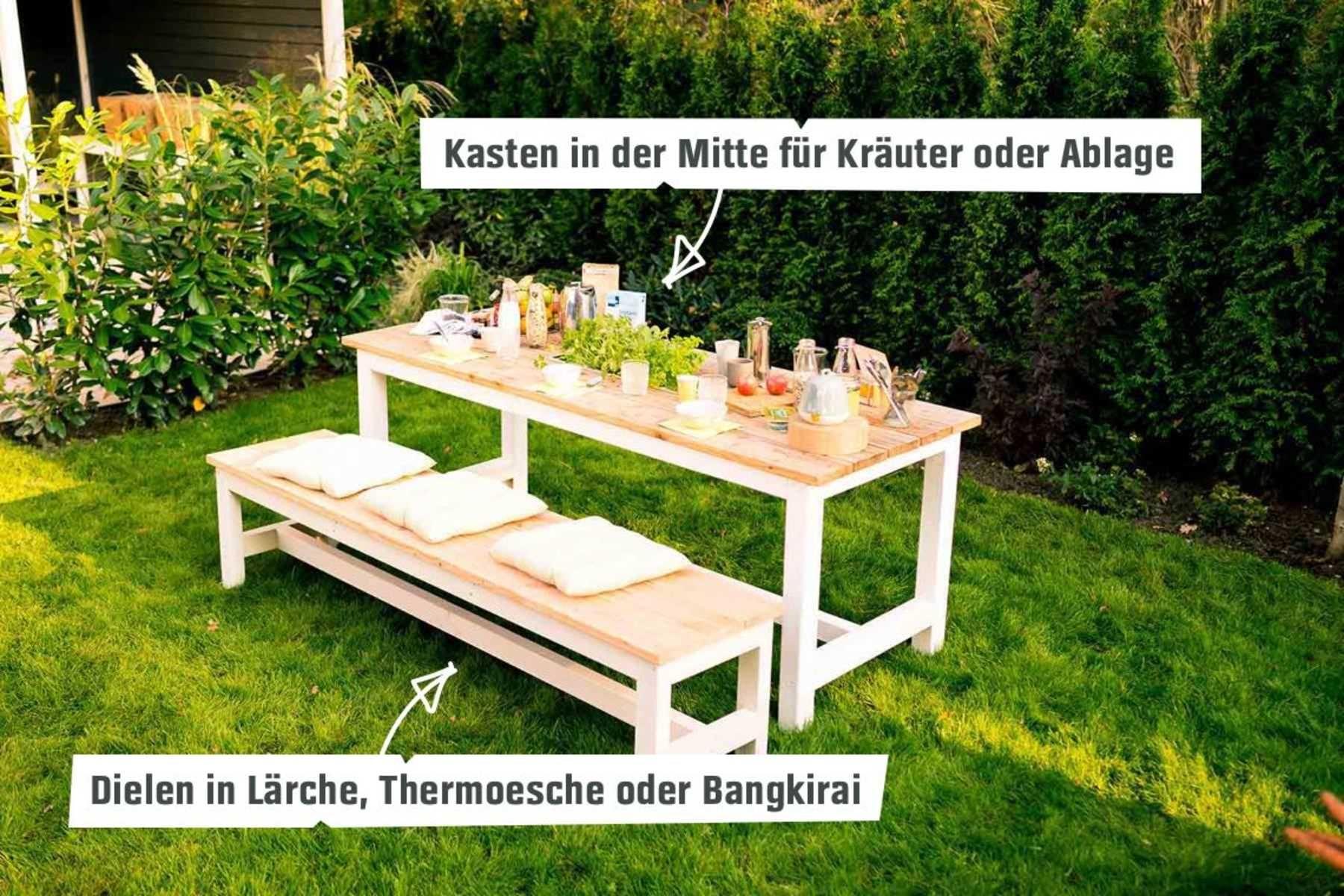 Gartentisch Richard Selber Bauen Alle Mobel Gartentisch Tisch Selber Bauen Balkon Selber Bauen