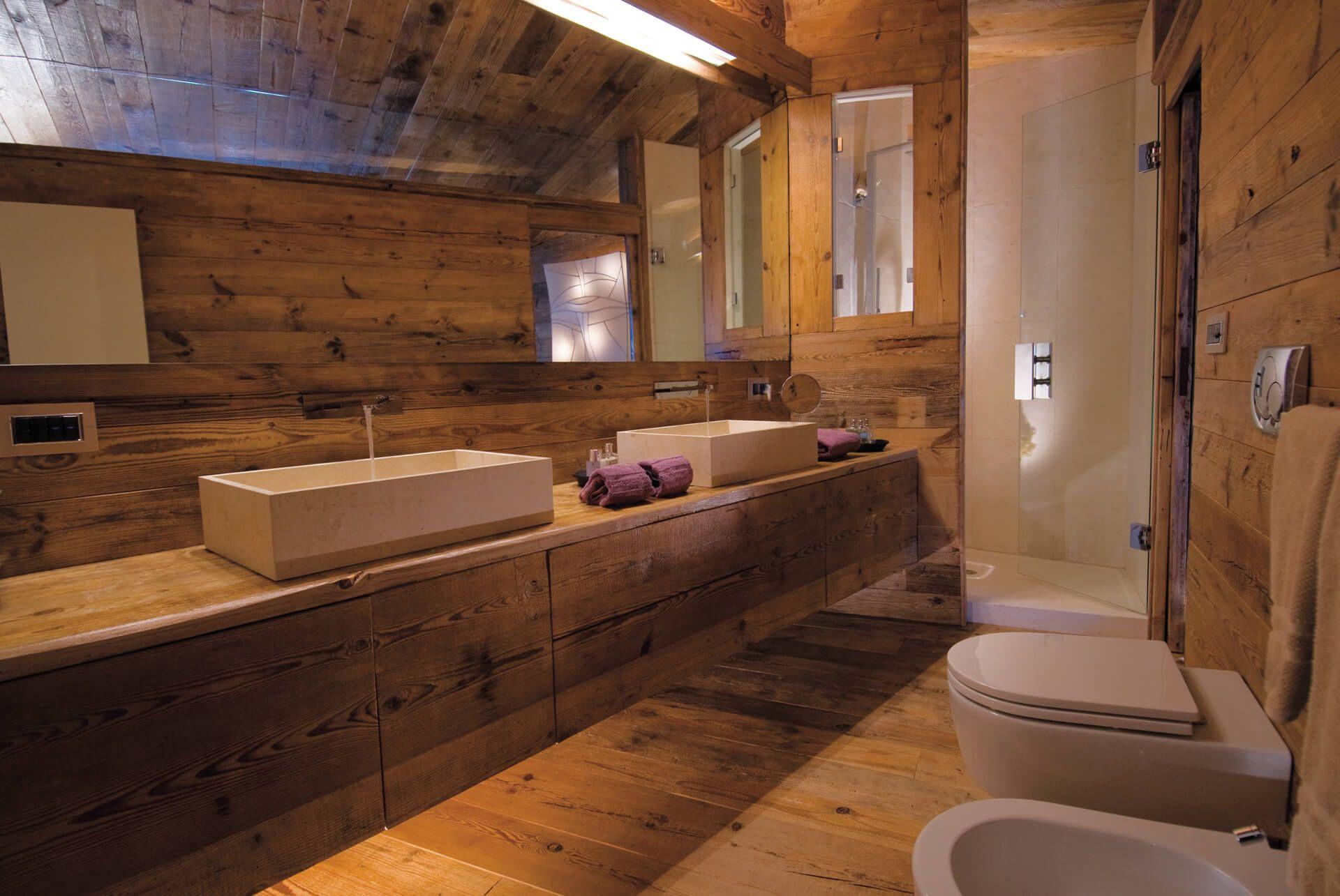 Bagno Montagna ~ Idee per l arredo casa in montagna progettazione casa paradiso