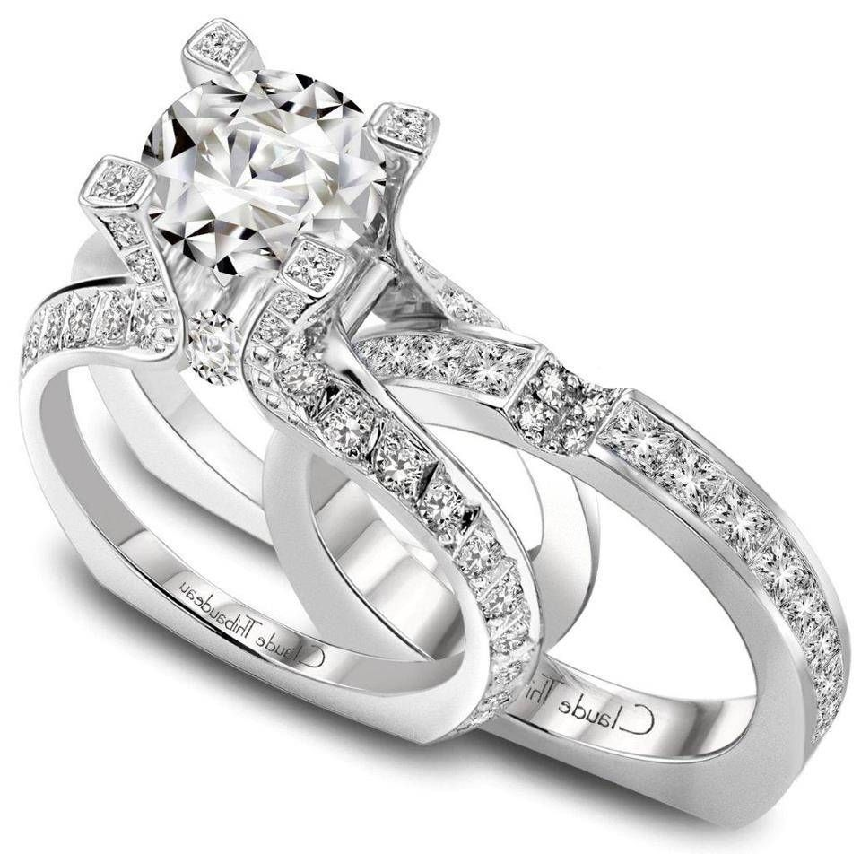2018 Beliebten 1 Million Dollar Verlobungsringe Trauringe Jewelry