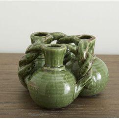 Trilogy Ceramic Bud Vases
