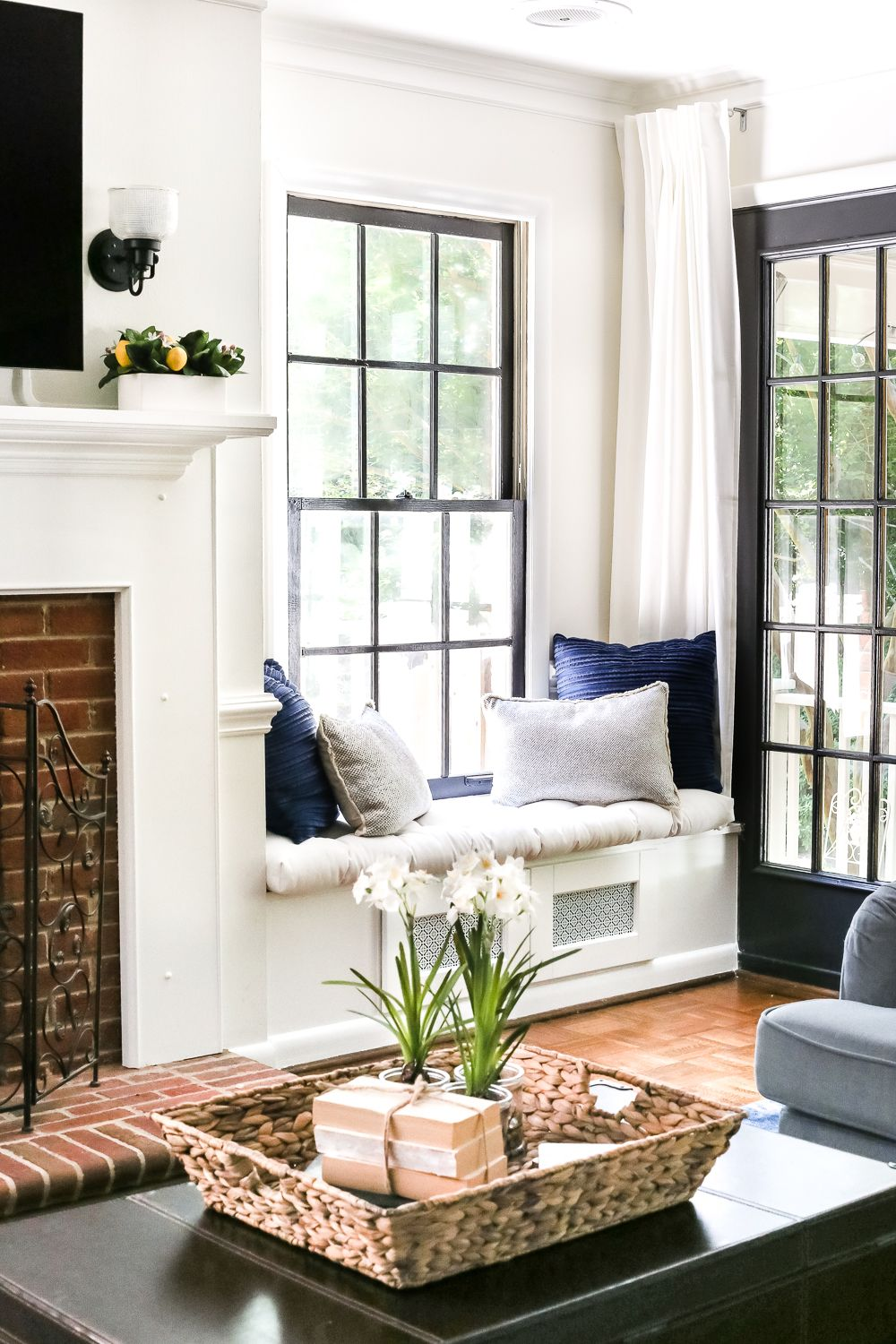 Photo of DIY Window Seat From a Kitchen Cabinet – Bless'er House