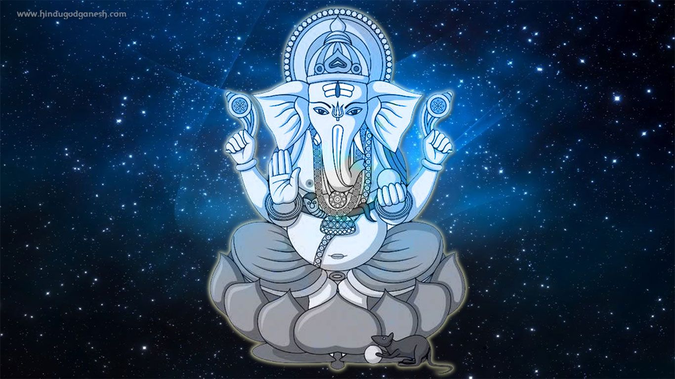 Pratham Pujya Ganesh Hd Photo Free Download With Black Background From Our Collection Of Ganesha Image G Background Hd Wallpaper Hd Wallpaper Black Backgrounds