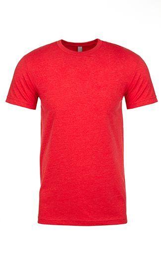 Red 6210 Next Level Apparel MEN'S CVC CREW Shirts, T