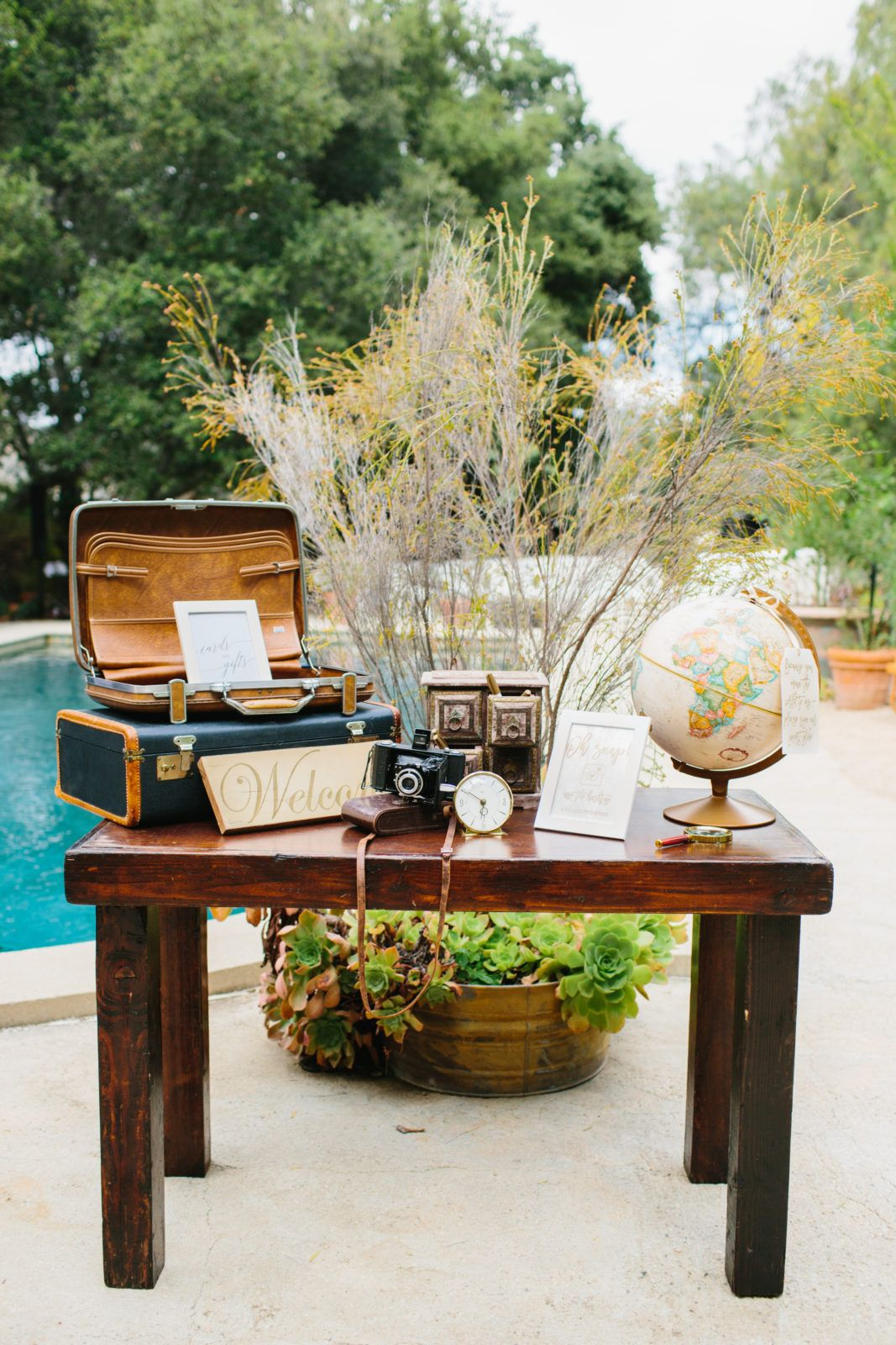 A Travel Themed Wedding at The Mountain Mermaid ...