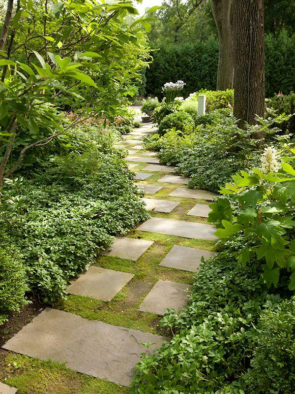 Bluestone Garden Path | Winnetka Residence