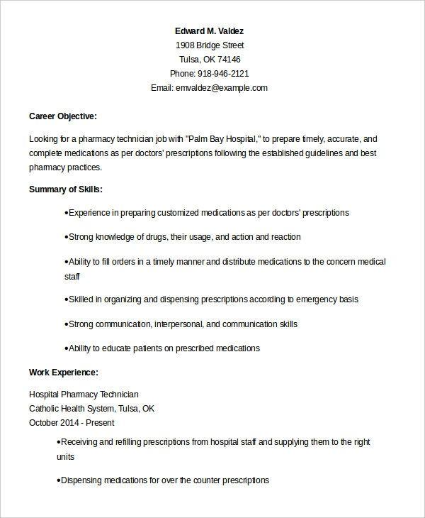 Modern Pharmacy Tech Resume Lamasajasonkellyphotoco Job Resume Samples Resume Examples Pharmacy Technician
