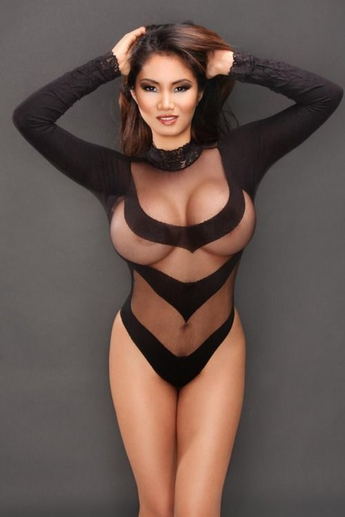 Sexy girls in see thru clothes