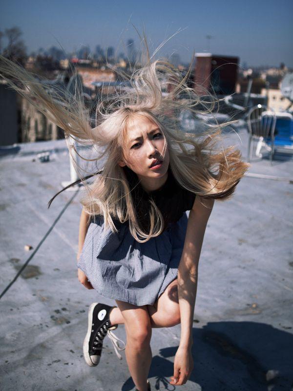 blonde-girl-in-blue-converse-stripper-bags-purses