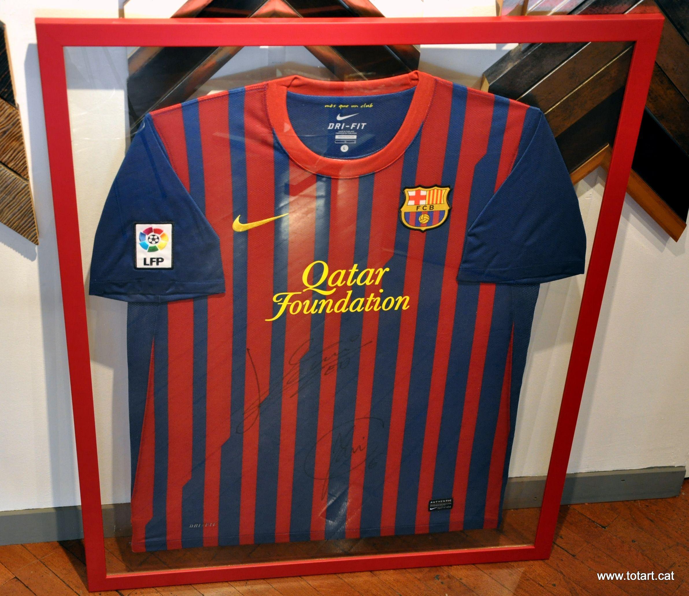 Un gran cuadro con la camiseta de tu equipo preferido en www.totart ...