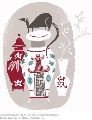 // Chinese horoscope : Rat - Jean-Manuel Duvivier