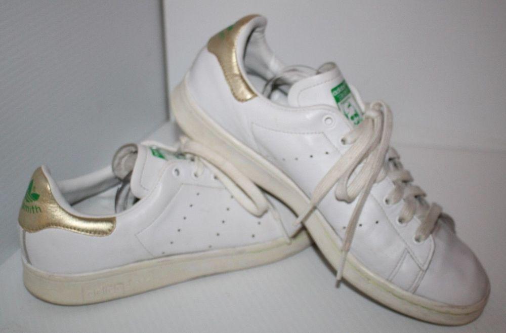 Adidas Stan Oro Smith Bianca Tallone Oro Stan Verde Tag Signore. b547b7