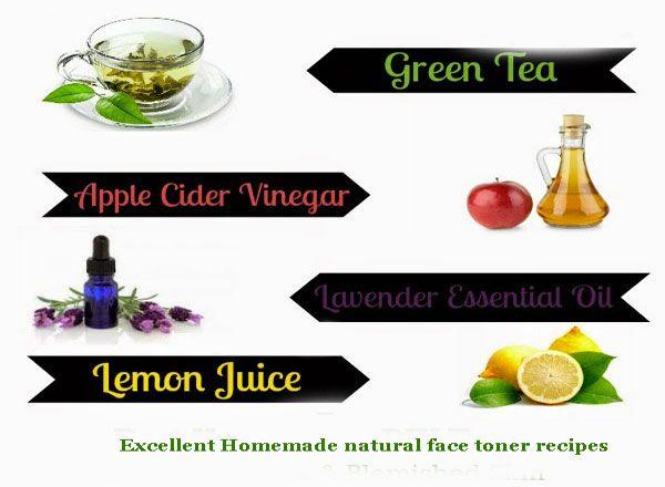 Excellent Homemade natural face toner recipes