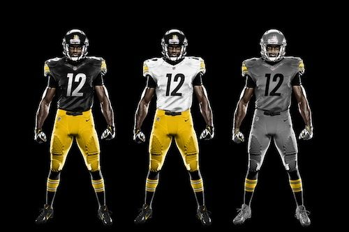 Proposed new uniform for the Pittsburgh Steelers  77f64124e8eb