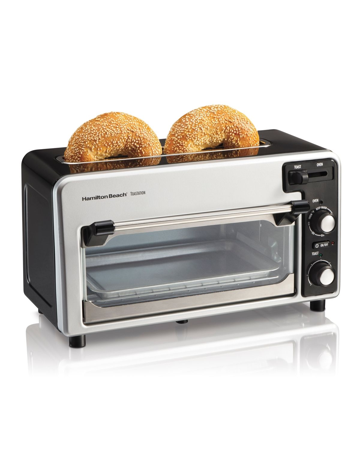 Hamilton Beach Toastation Toaster And Oven Black Oven Models