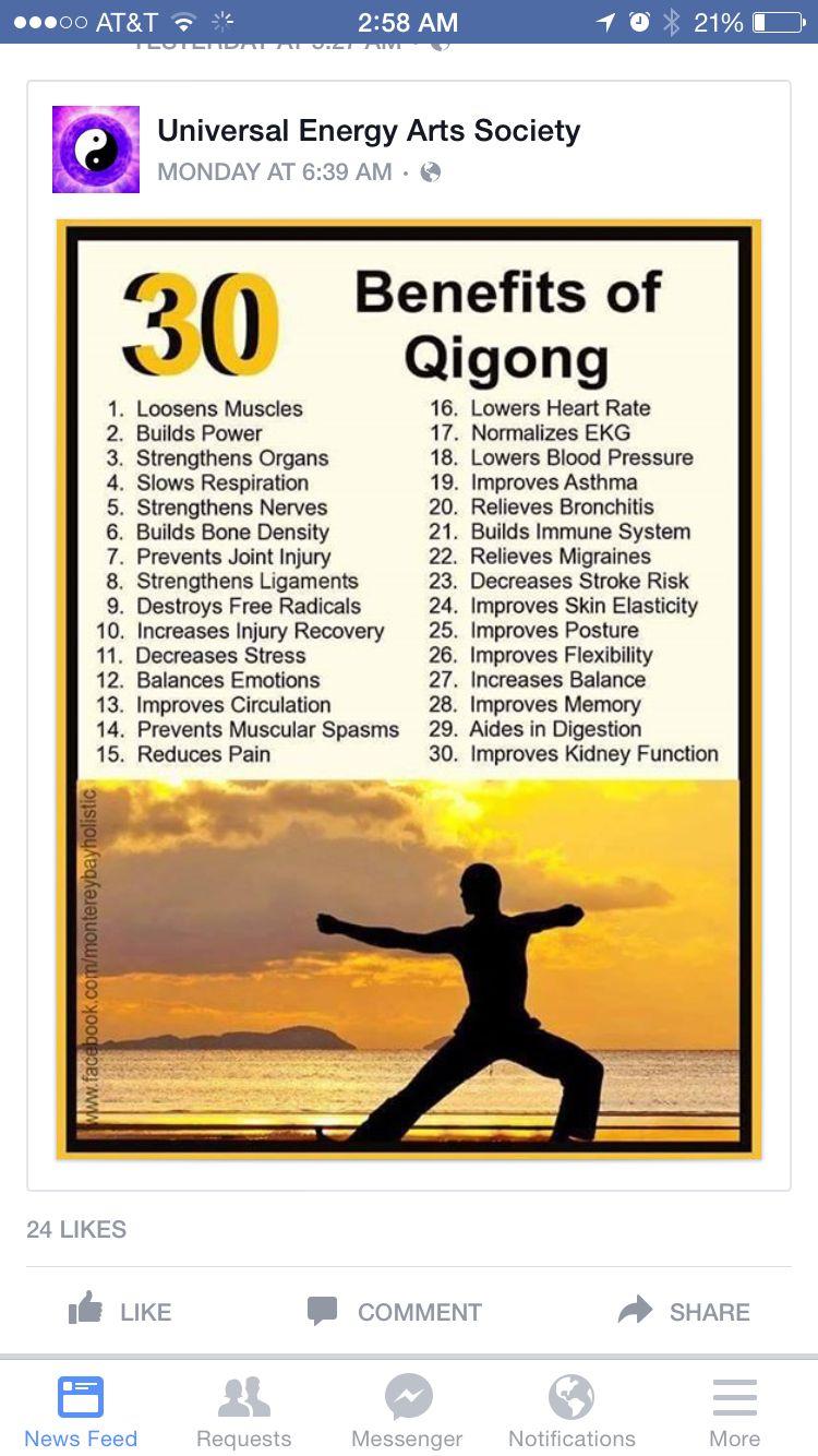 Health Benefits of Qigong and Tai Chi