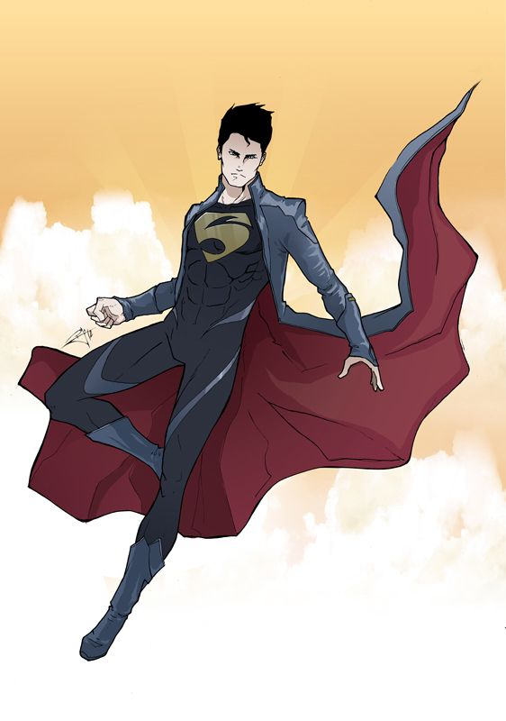 Superman Redesign by morphews.  I'm not a big fan of Superman but I am a big fan of this redesign.