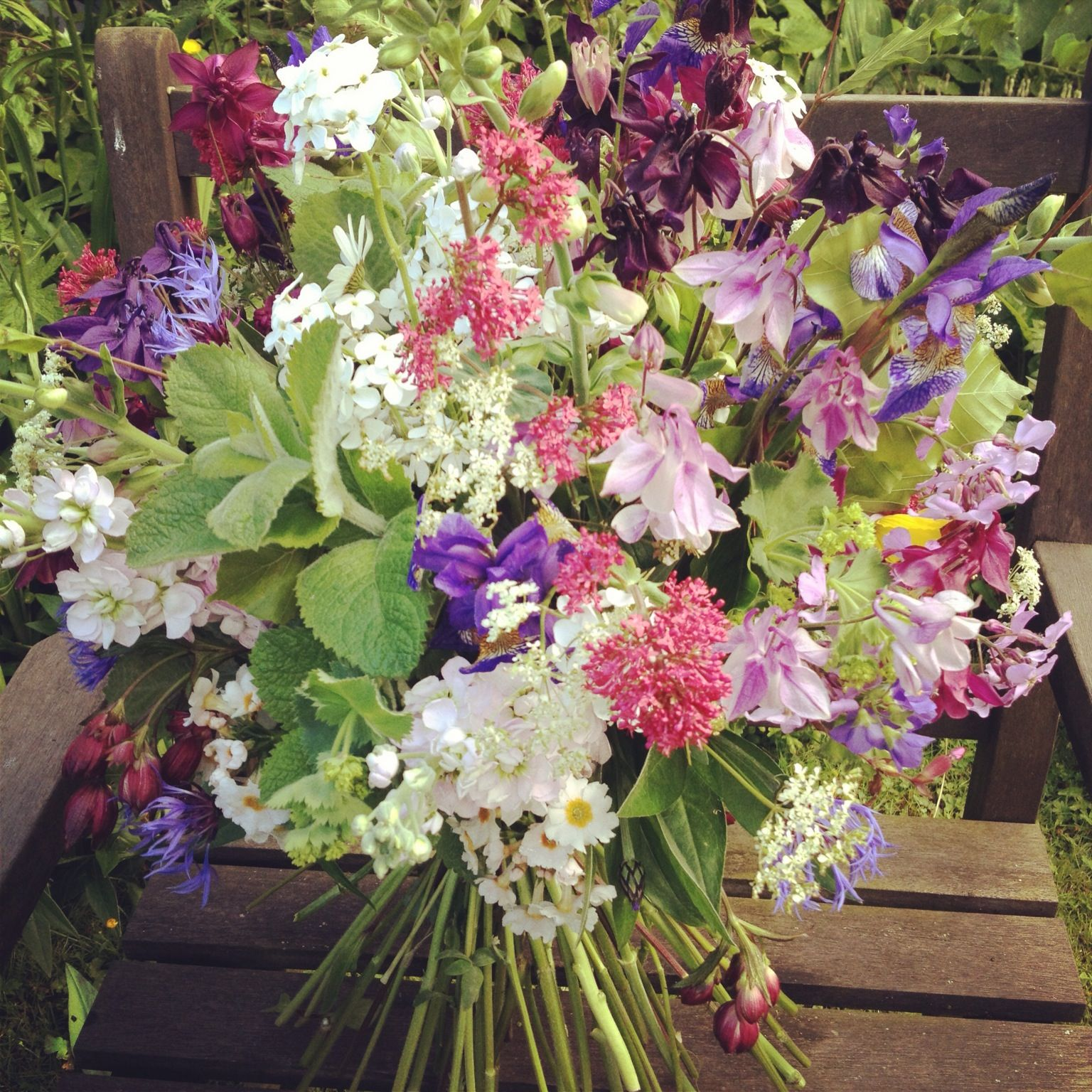 Wessex Flower Company - Wild and country bouquet.