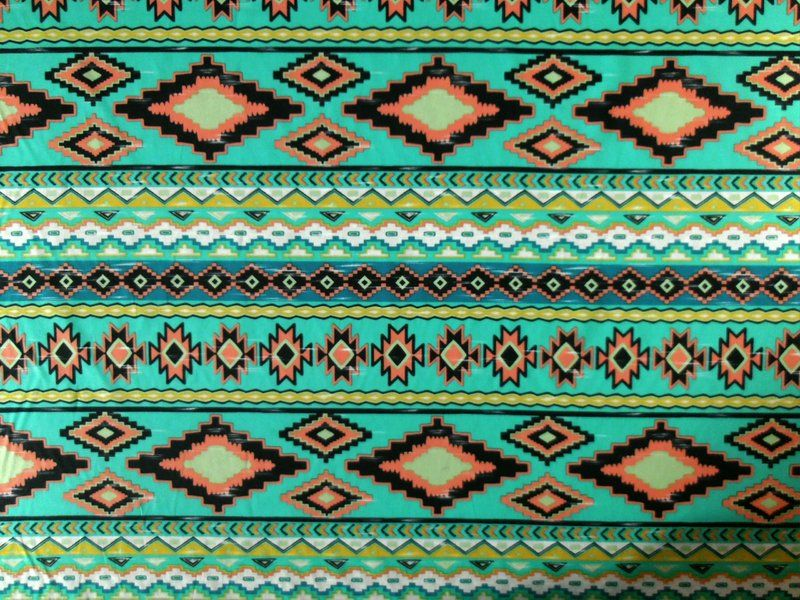 Aztec Print Spandex Fabric Google Search Fabrics And