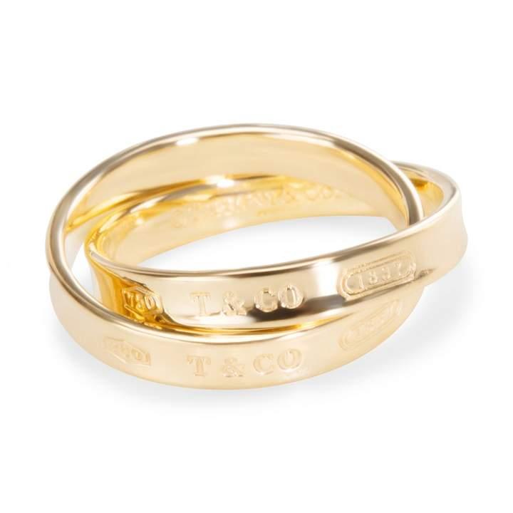 257faa499eb16 Tiffany 1837 yellow gold ring in 2019 | 2019 Designer Rings ...