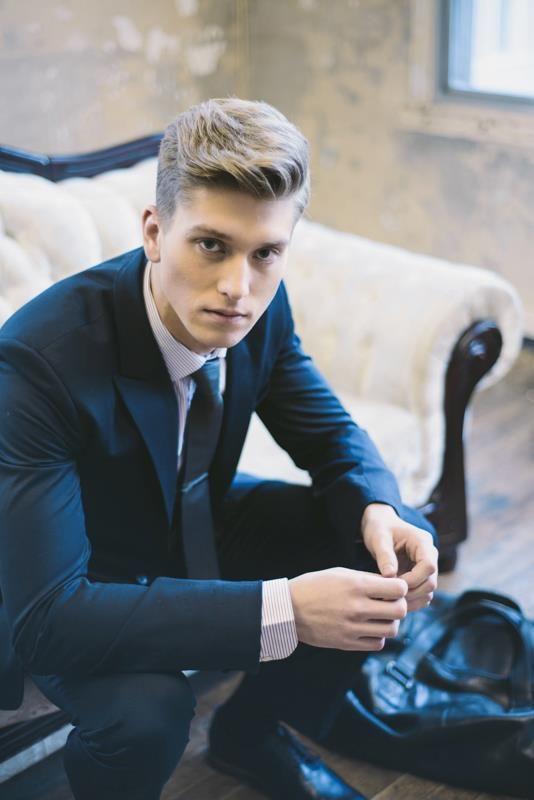 Peinados para hombres Los mejores peinados para bodas Pinterest