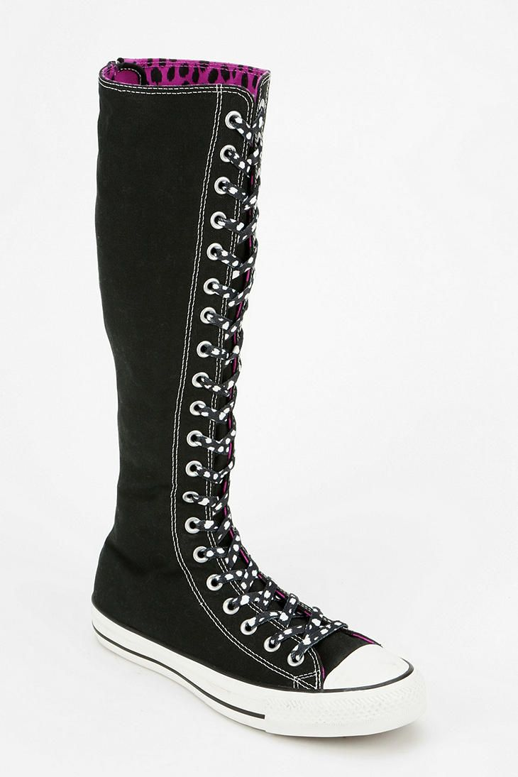 Converse Chuck Taylor All Star Women s Knee-High Sneaker ~  She d have  loved these! 5790fe7ab