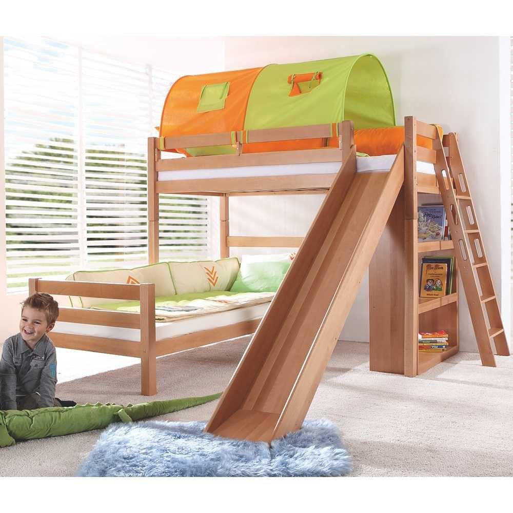 Kinderbett Rutsche