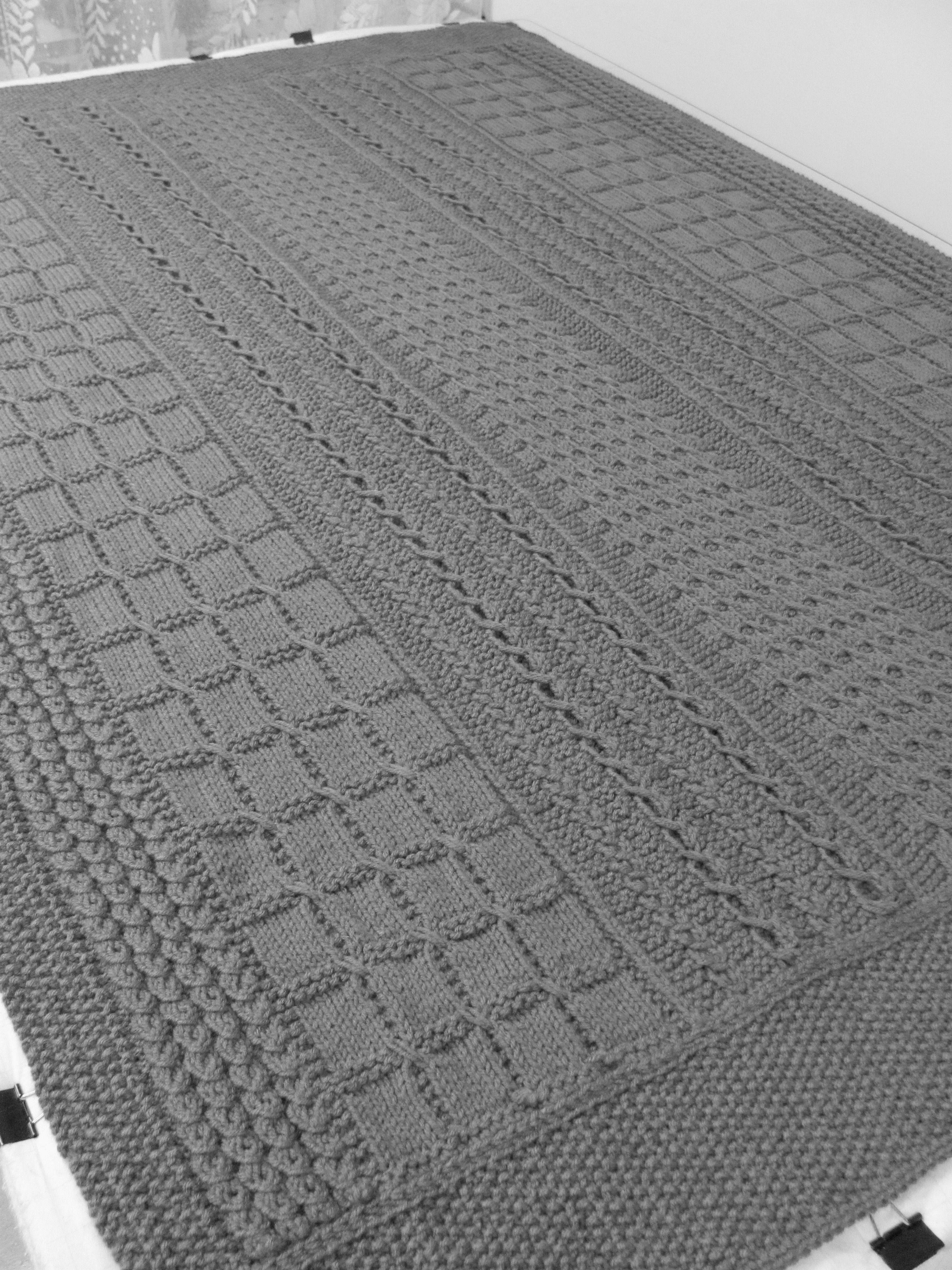 Skerin Aran Crochet Afghan from KnitPicks.com (for the man in your ...