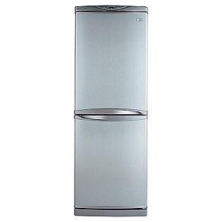 Lg 10 Cu Ft Bottom Freezer Refrigerator Titanium Small And