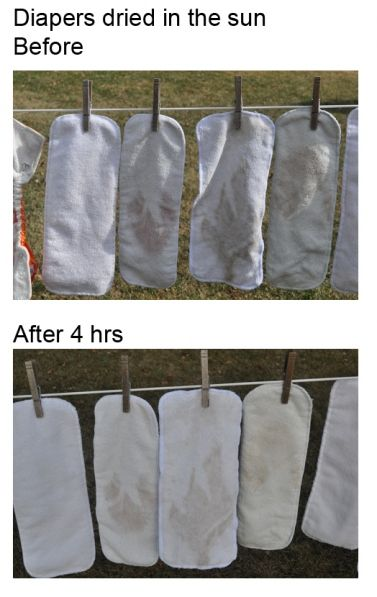 Sun Bleaching Cloth Diapers To Remove Stains I Did This With My First Baby And It Does Work Diaper Stains Cloth Diapers Diaper