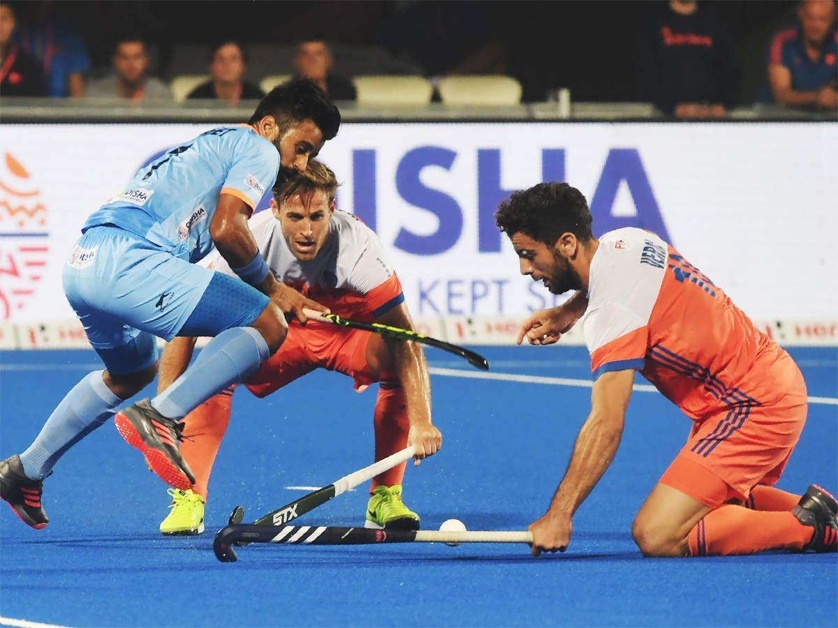 Hockey World Cup India S Dream Ends With Dutch Defeat In Quarters Hockey World Cup World Cup Hockey
