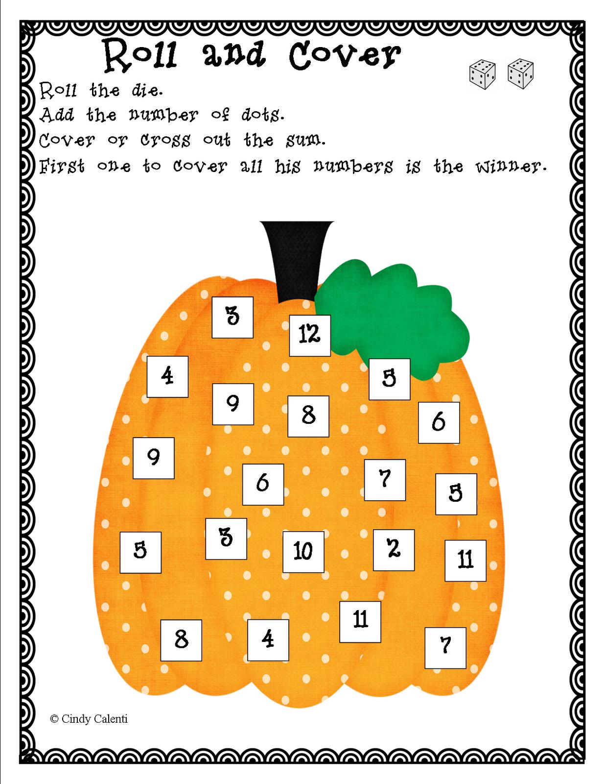 Pumpkin Activities For Kids Weekend Links Fall Math