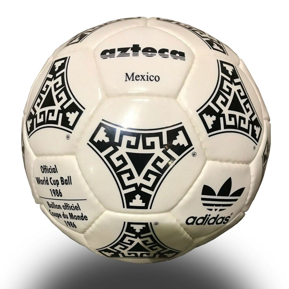 Adidas Azteca Soccer Ball Official Match Ball Fifa World Cup Mexico 1986 Re World Cup Fifa World Cup Soccer Ball